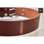 Mahogany Leather Collar 3