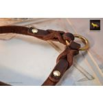 Love Knot Coupler Leather Leash 3