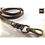 Love Knot II Braid Leather Leash