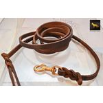 Love Knot Braid Leather Leash