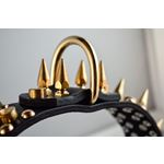 Gladiator III Spiked Leather Collar 3