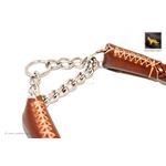 Roman II Braid Martingale Leather Collar 3