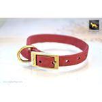Tiny Diamonds II Soft Leather Collar 3