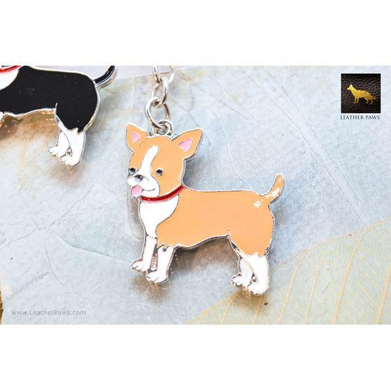 Brown Chihuahua Key Chain