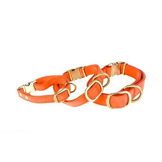 Peach Quick Release Dog Collar