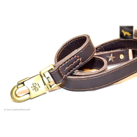 Military Leather Leash 3