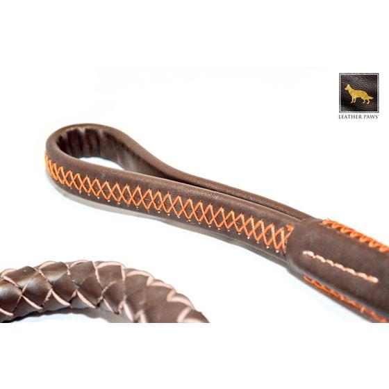 Freedom Braided Leather Leash 3