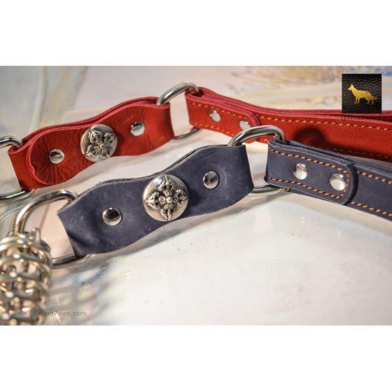 Warrior Short Leather Leash