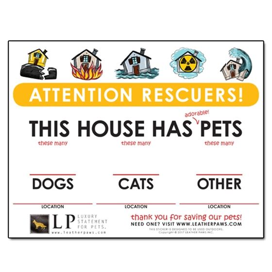Attention Rescuers! Sign