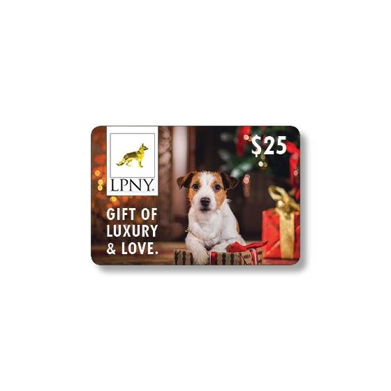 LPNY® Gift Card With Pouch $25