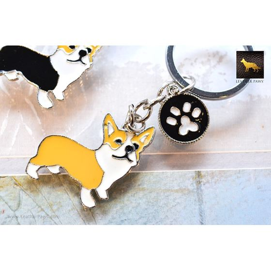 Corgi Key Chain 3