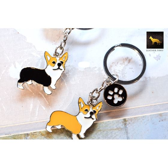 Corgi Key Chain
